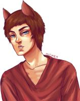 cat DUDE by kiwi-monster