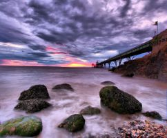 Clevedon Sunset by j7ugg