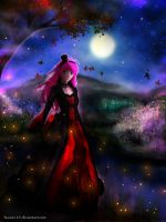 moonlight lady by huxne123
