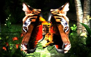 Jungle Mind by Distorted-Colours