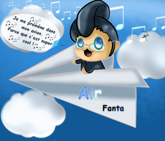 Fan art : Chibi Fanta Avion by juliabakura