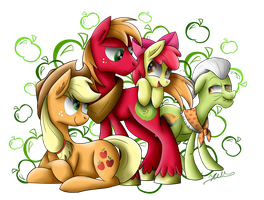 Apple Family by Hilis