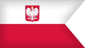 Naval Ensign Of Poland by Xumarov