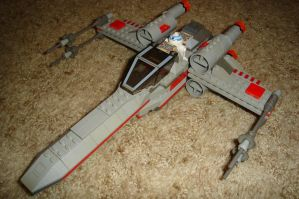 Custom  T-65 X-Wing by Taggerung1