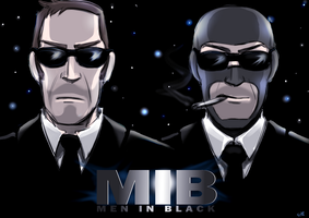 TF2: Men in Black by DarkLitria