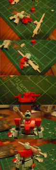 White Dingo Project part 3- GM Cannon WIP 2 by Blayaden