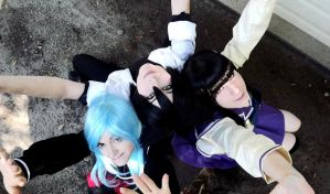 Put your hands up XD - Sankarea Cosplay by K-I-M-I