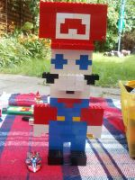Mario LEGO by animezfan