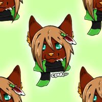 Tiled Background by TheWolfsChild