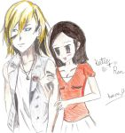 Anime- Katie and Ren by Gaming-Master