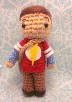 Little Sheldon Cooper Big Bang Theory Amigurumi 2 by Spudsstitches
