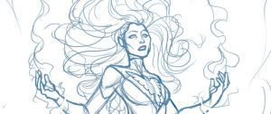 Phoenix sketch preview by DStPierre