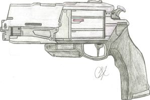 Her Hatred Exotic Hand Cannon by Chigiri16