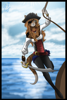 Gift 3. Pirate Queen by Ann-Joanne