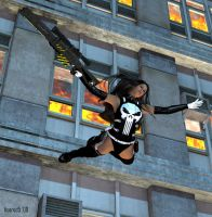 Cyber La Femme Punisher 01 by hotrod5