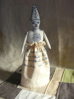 The Enchanter - Poetry Doll by theseventhmagpie