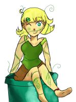7.Plant girl by sunshine12313