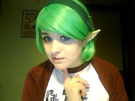 Saria Makeup Test by AmericanNia