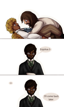 Les Mis: EXRWeek Day2: It's Not What It Looks Like by aka-noodle