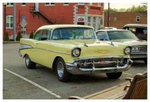 Yellow 57' Chevy by TheMan268