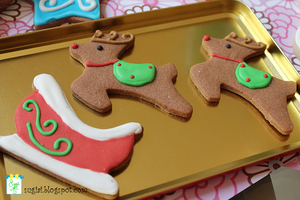 Reindeer Cookies by SugiAi