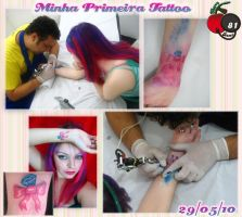 Cherry Girl The First Tattoo by cherrybomb-81