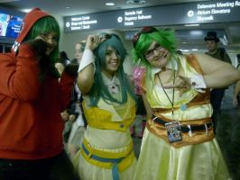 Ohayocon '12 Gumis by white-chocolate13