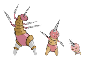 Korock - Fakemon by SuperHeroPattyFatty