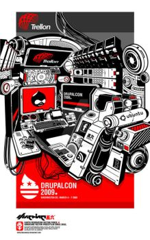 Drupalcon dc 2009 t-shirt by machine56