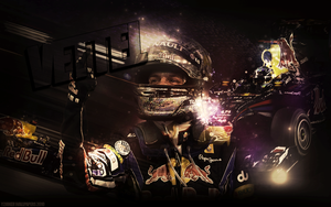 Sebastian Vettel Wallpaper by Y2Joker