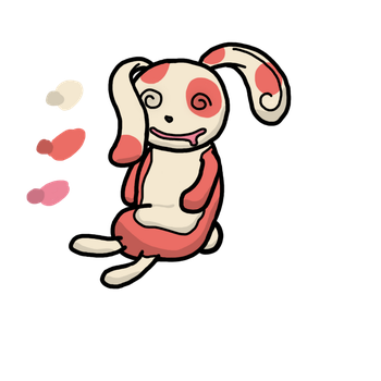 Quick Spinda drawing by JakeXY