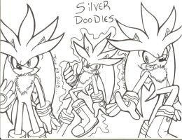 Silver Doodles by SONICJENNY