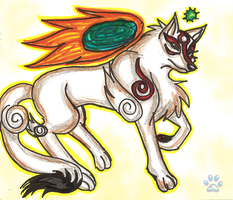 Ammy, the Sun Goddess by jayfoxfire
