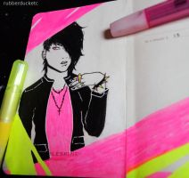 Highlighters by CosmosKitty