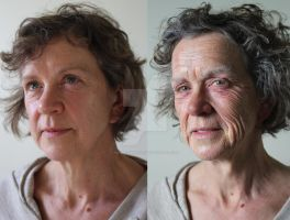 Old Age Makeup for an Australian Short Film by WowFXMakeup