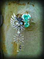 Winter Hoot Fantasy Key by ArtByStarlaMoore