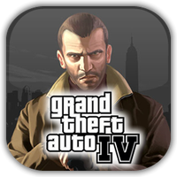GTA IV Game Icon by Wolfangraul