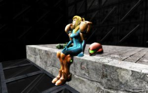 Zero Suit Samus SUIT by darklinksmash