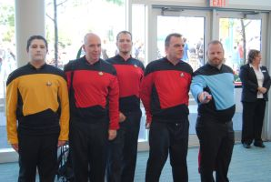 Niagara Falls Comicon 2015 - Star Trekkies by TheWarRises