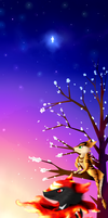 CE: Shoada and Noroa-After the Star seeing the Sun by Cleasia