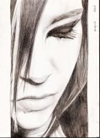 Bill Kaulitz 14 by crayon2papier
