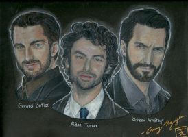 The Holy Trinity of Hot Men from Across the Pond by UchihaSae