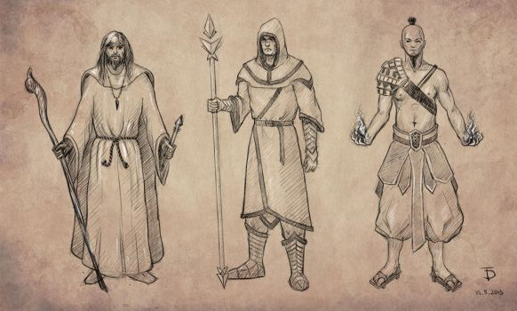 Mage Character Concept by 0ziRi5
