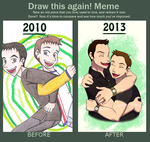 Draw this again meme 2 by chachi411