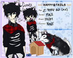 .:Happy Tails:. Cloud by PrinceS0L