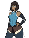 Commission for doomberry83 - Korra by theEyZmaster