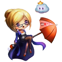 LoL - Forecast Janna Chibi by cubehero