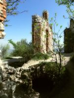 What's left of Divci hrad by krigl