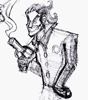 Joker Sketch by schults