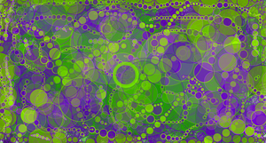 Purple and Green cells by FiXato